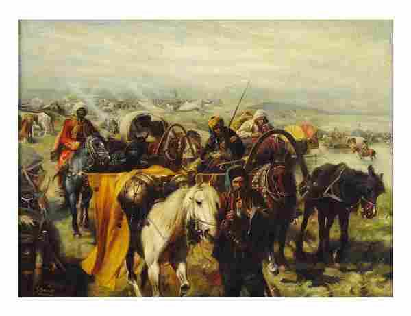 JOSEF VON BRANDT (LATER) , Polish, (1841 - 1915).,