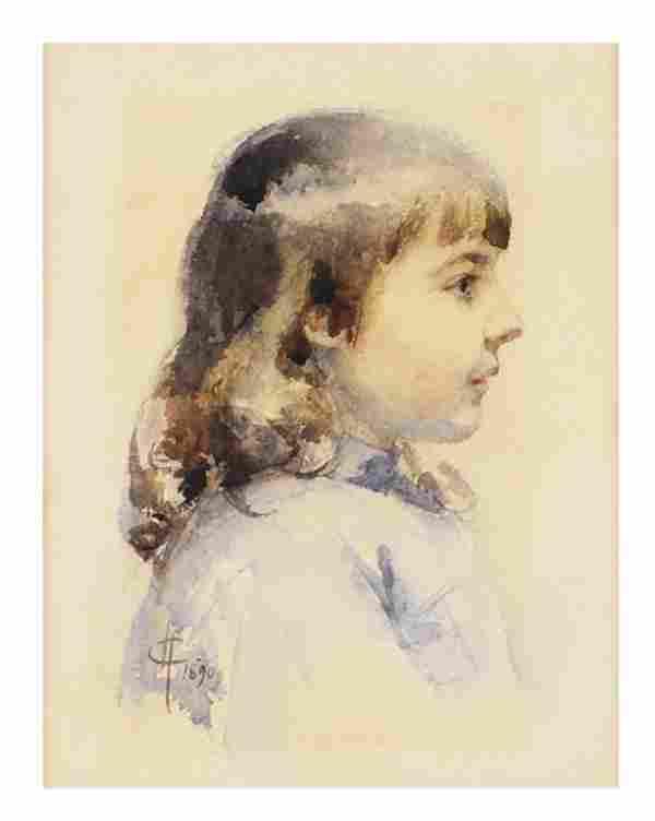 FOLLOWER OF MARY CASSATT, American, (1844-1926).,
