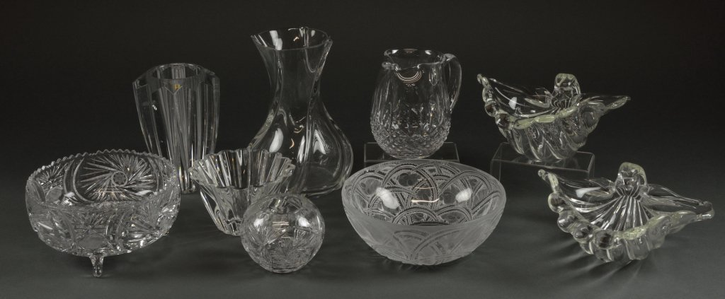 8: CRYSTAL GROUP INCLUDING BACCARAT & LALIQUE