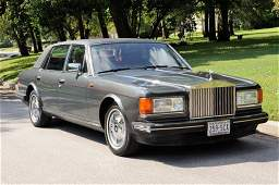 63: A 1990 ROLLS ROYCE SILVER SPUR II Crewe, Cheshire,