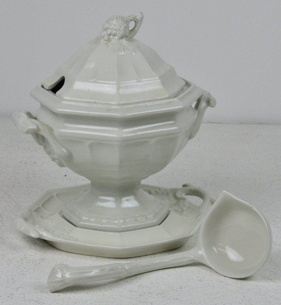 1: RED CLIFF IRONSTONE SOUP TUREEN - 2
