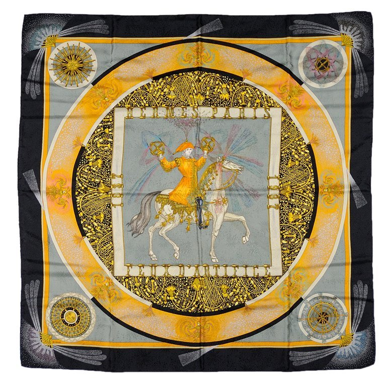 """5: HERMES SCARF """"150th ANNIVERSARY EDITION"""""""