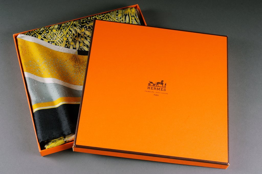 """5: HERMES SCARF """"150th ANNIVERSARY EDITION"""" - 2"""