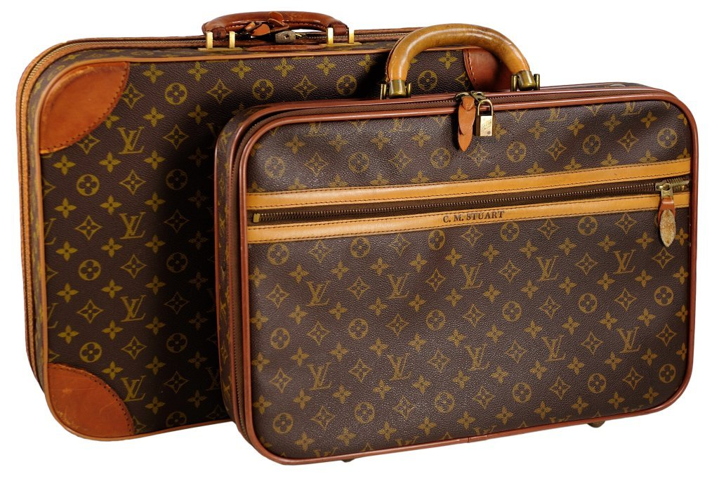 14: A DUO OF LOUIS VUITTON LUGGAGE