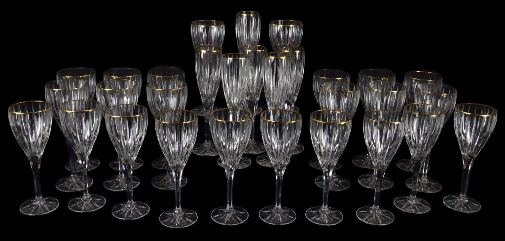4: MIKASA RIBBED STEMWARE ENTERTAINMENT COLLECTION