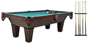 "THE ""BRUNSWICK"" POOL TABLE GENTLEMAN'S GROUPING"