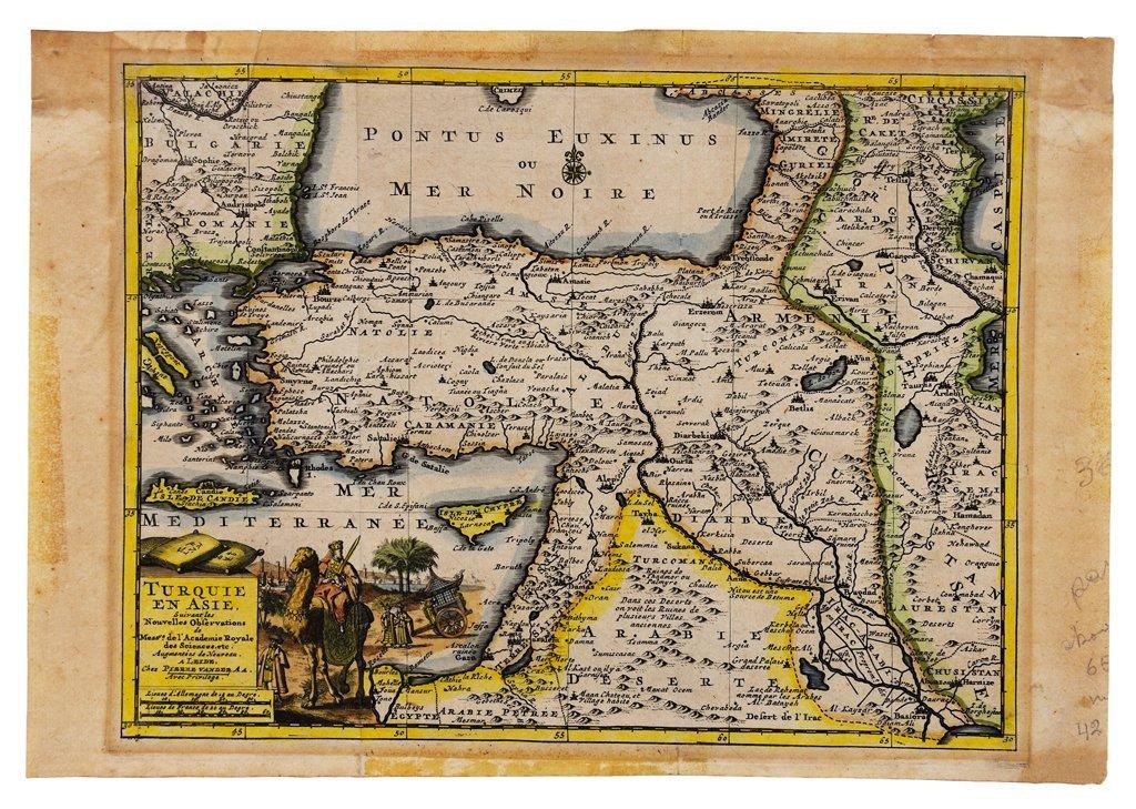 """24: Pierre Vander (FRENCH, 1659-1733) """"TURKIE EN AS"""