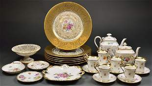 A COLLECTION OF DRESDEN PORCELAIN