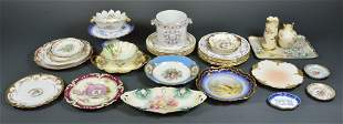 A COLLECTION OF PORCELAIN AND FINE CHINA