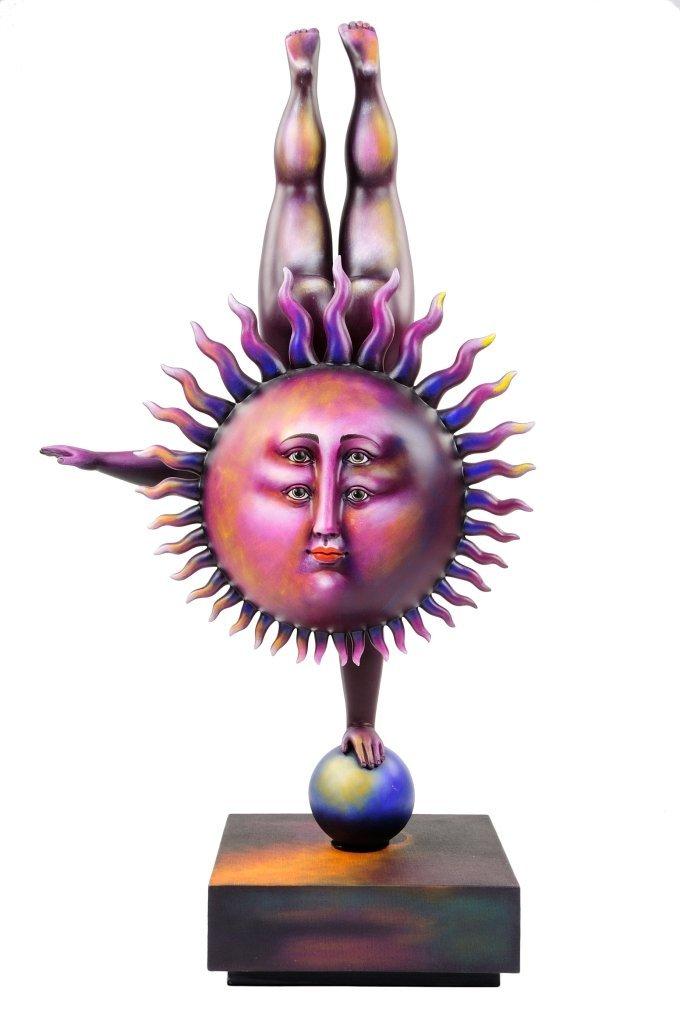 """SERGIO BUSTAMANTE (Mexican, 1942-PRESENT) """"ACROBAT SUN"""""""