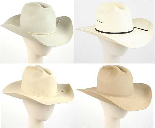 A COLLECTION OF M.L. LEDDY S AND RESISTOL COWBOY HATS S 0c698607d65