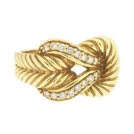 Sophia D. Platinum, Gold, Tsavorite Garnet and Diamond
