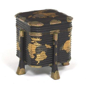 Groovy Antique Japanese Takamaki E Gold Decorated Black Sep 07 Inzonedesignstudio Interior Chair Design Inzonedesignstudiocom