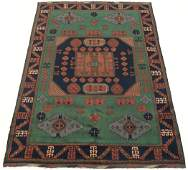 Hand Knotted Caucasian Kazak Carpet