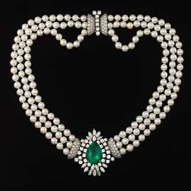 Ladies' Impressive 14.83ct Natural Columbian Emerald,