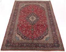 Antique Fine Hand Knotted Kashan Carpet