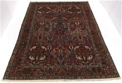 Rare Very Fine Antique Hand Knotted Bakhtiari Large