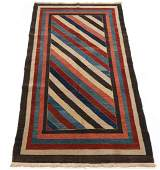 Very Fine Vintage Hand Knotted Gabbeh Carpet, ca.
