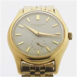 Patek Philippe Calatrava Ref. 2526 18k Gold Watch With