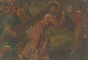 Anonymous, Pair of Religious Paintings