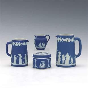 Group of Wedgwood Jasperware Table Items