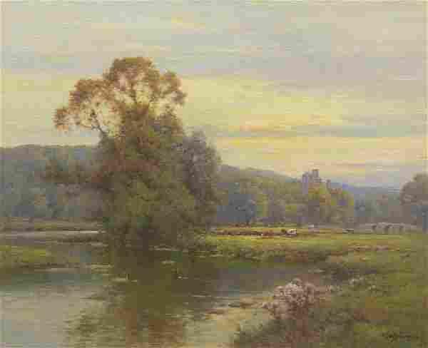 Alfred Fontville De Breanski, Jr. (British, 1877 -