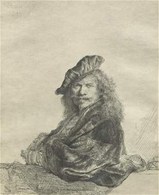 Charles Amand Durand (1831 - 1905) After Rembrandt