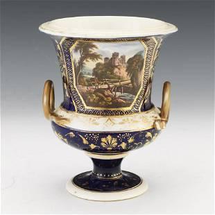 Royal Crown Derby Porcelain Hand Painted Landscape