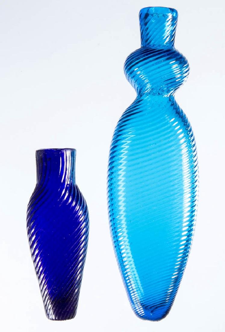 PATTERN-MOLDED COLOGNE / PERFUME FLASK