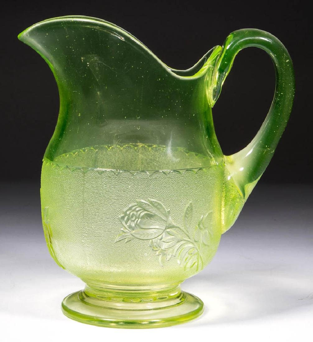 BRYCE NO. 125 / ROSE IN SNOW WATER PITCHER