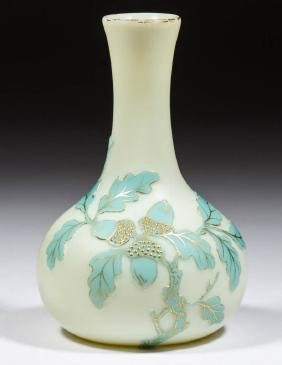 THOMAS WEBB CAMEO ART GLASS VASE