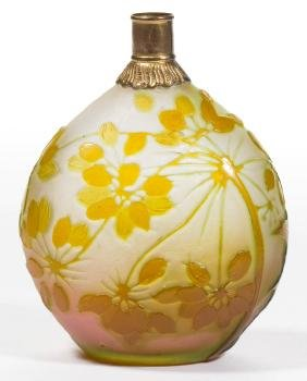 GALLE CAMEO ART GLASS PERFUME