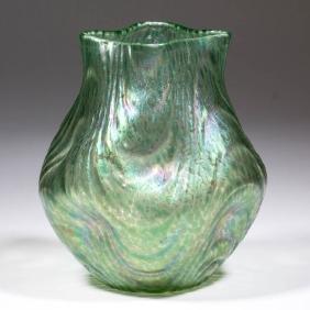 LOETZ ATTRIBUTED OCEANIK ART GLASS VASE