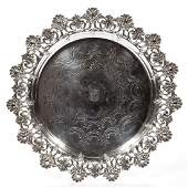 TIFFANY  CO STERLING SILVER TRAY