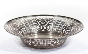 WATSON CO. STERLING SILVER PIERCED RETICULATED BOWL