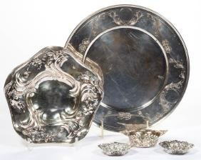 AMERICAN AND ENGLISH STERLING SILVER TABLE ARTICLES,