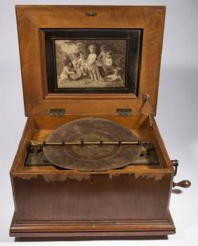 "SYMPHONION 12"" DISC MUSIC BOX"