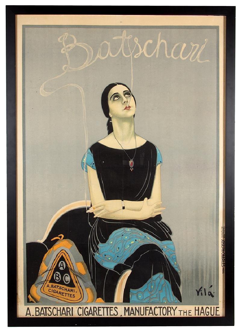 EMILIO VILA (SPANISH, 1887-1967) BATSCHARI CIGARETTES