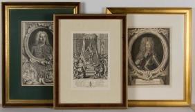 JACOBUS HOUBRAKEN (DUTCH, 1698-1780) PORTRAIT OF GEORGE