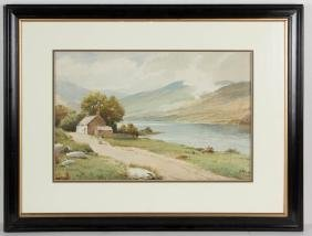 J. W. JACKSON (BRITISH, 20TH CENTURY) HIGHLAND
