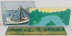 ASSORTED AMERICAN SCHOOL (20TH CENTURY) PAINTINGS, LOT