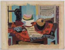 WINSLOW ANDERSON (AMERICAN, 1917-2007) ABSTRACT