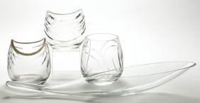 PROTOTYPE BLENKO/LENOX CUT GLASS - WINSLOW ANDERSON