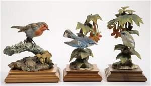 ENGLISH ROYAL WORCESTER DOROTHY DOUGHTY CERAMIC BIRD