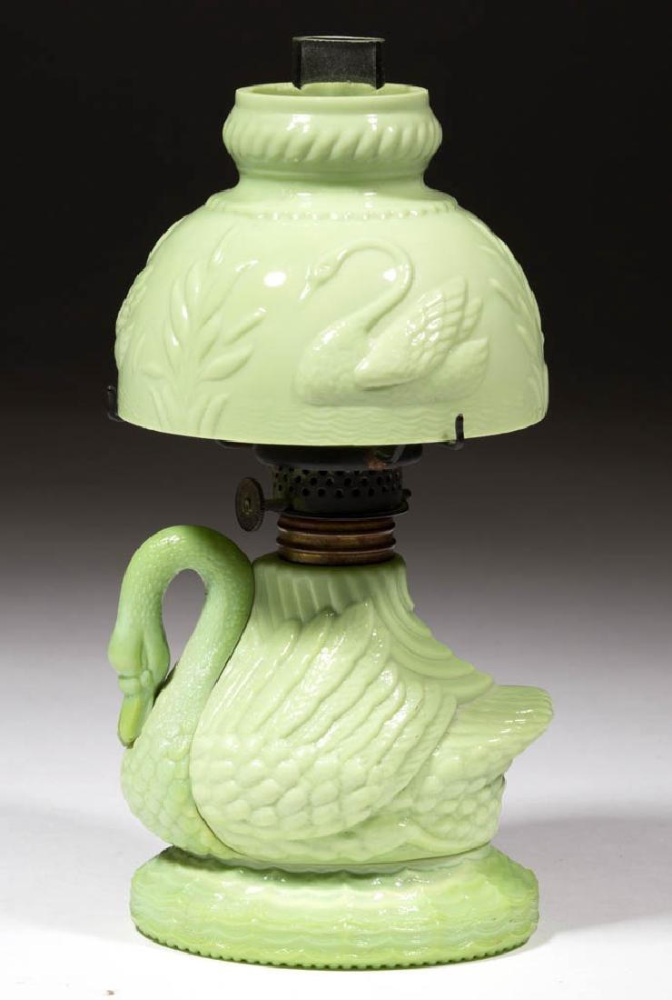 SWAN FIGURAL MINIATURE LAMP