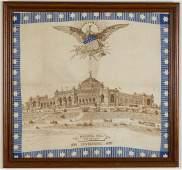 1876 PHILADELPHIA WORLD'S FAIR / CENTENNIAL EXPOSITION