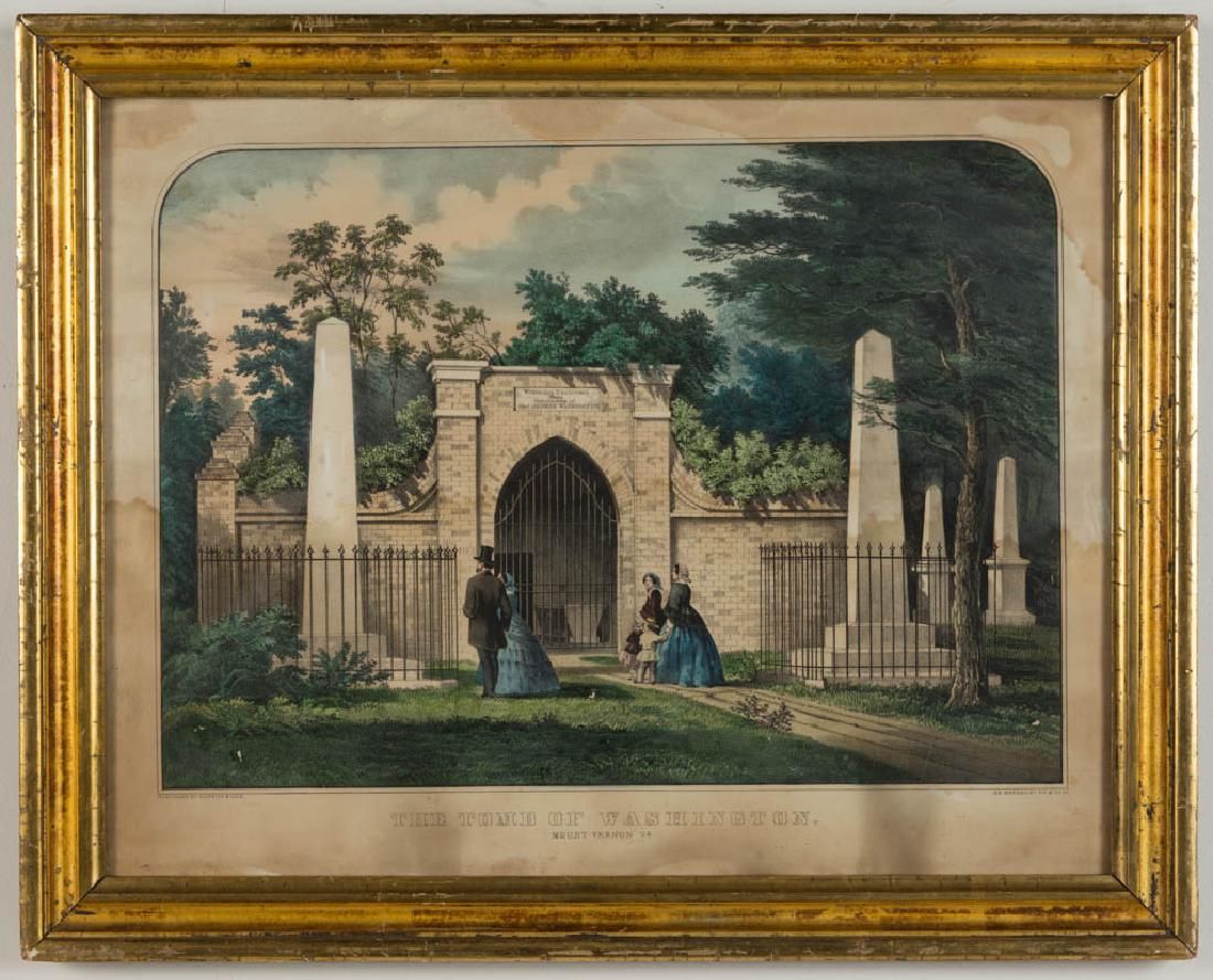 CURRIER & IVES VIRGINIA HISTORICAL PRINT