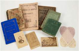 ASSORTED QUAKER AND OTHER PRINTED MATERIAL  EPHEMERA