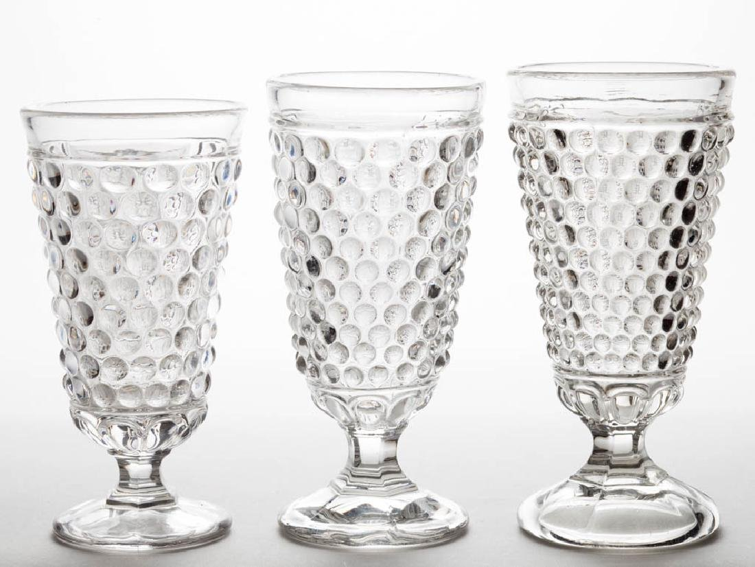 MEPHISTOPHELES ALE GLASSES, LOT OF THREE - 2