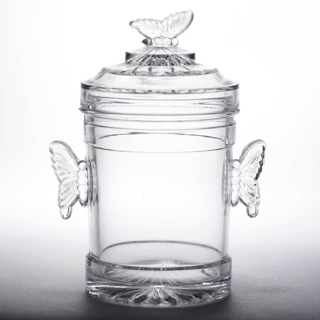 BUTTERFLY HANDLES JAM / PICKLE JAR